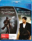 The Assassination of Jesse James / Wyatt Earp (Blu-ray Double)