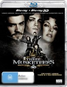 The Three Musketeers (2011) (3D Blu-ray/Blu-ray)