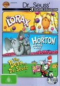 The Lorax (1972) / Horton Hears a Who! (1970) / The Best of Dr Seuss (1972) (3 Discs)