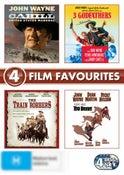 3 Godfathers / Cahill: US Marshal / Rio Bravo / The Train Robbers (John Wayne) (4 Discs)