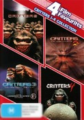 Critters Complete Collection (Critters 1 - 4) (4 Film Favs)