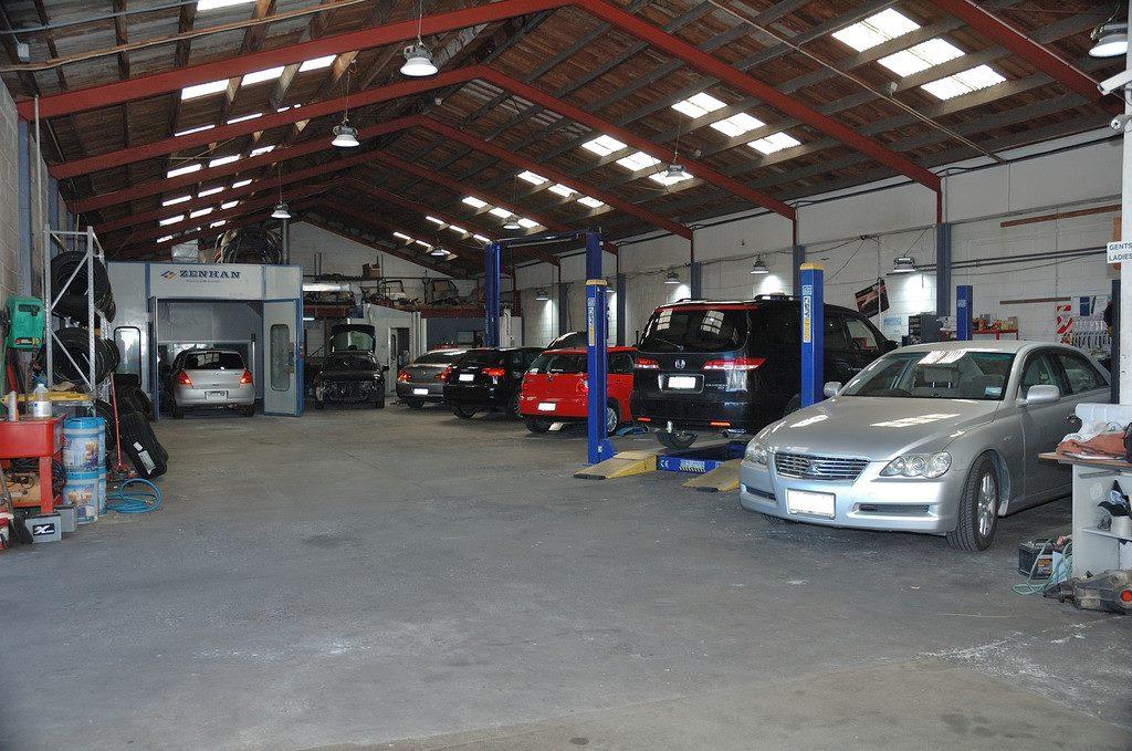 Mechanic Shop Near Me >> Panel Beating Paint Shop Mechanic Shop Business Trade Me