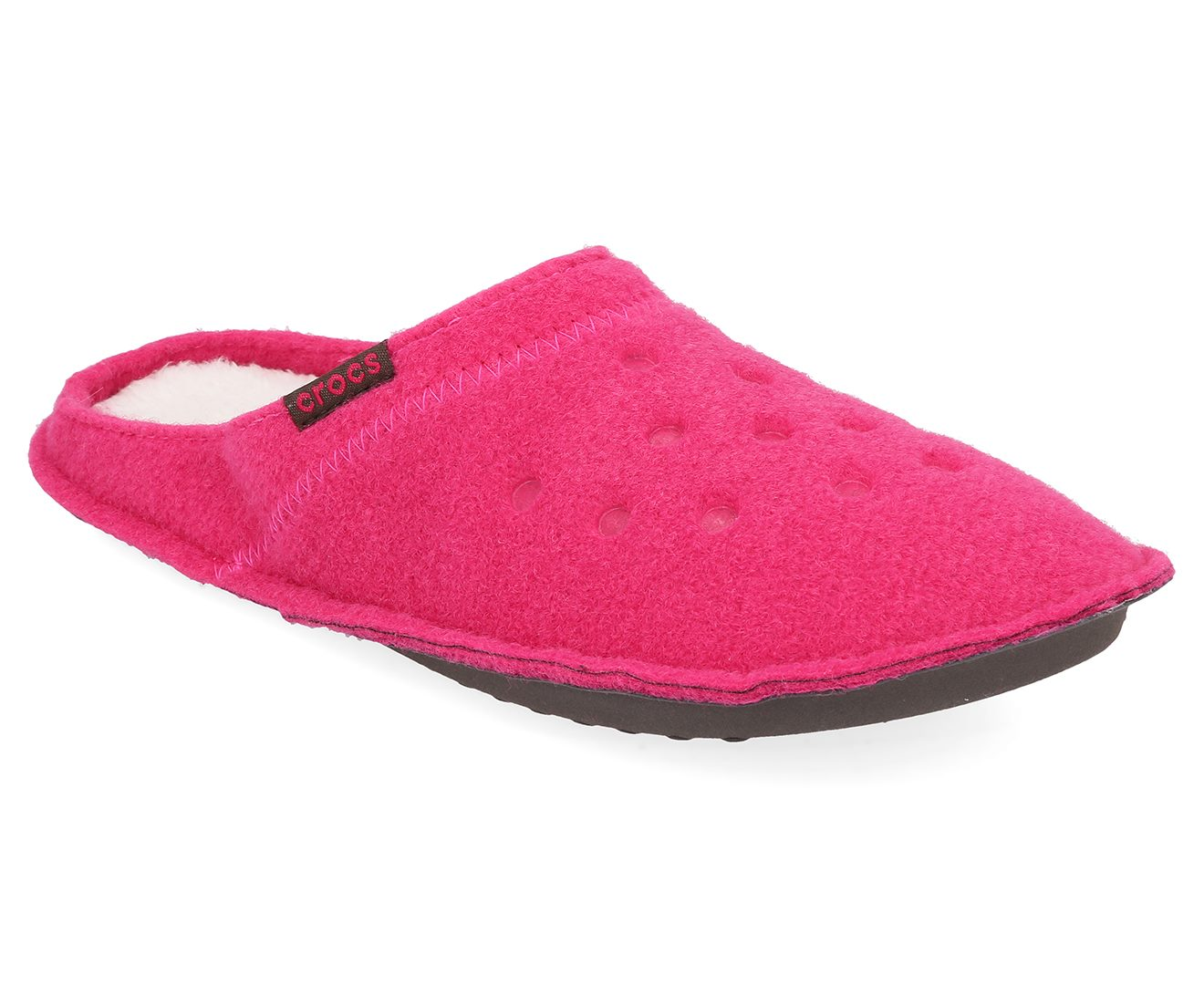 aed451cde2 Crocs Unisex Classic Slipper Candy Pink Oatmeal Slippers   Trade Me