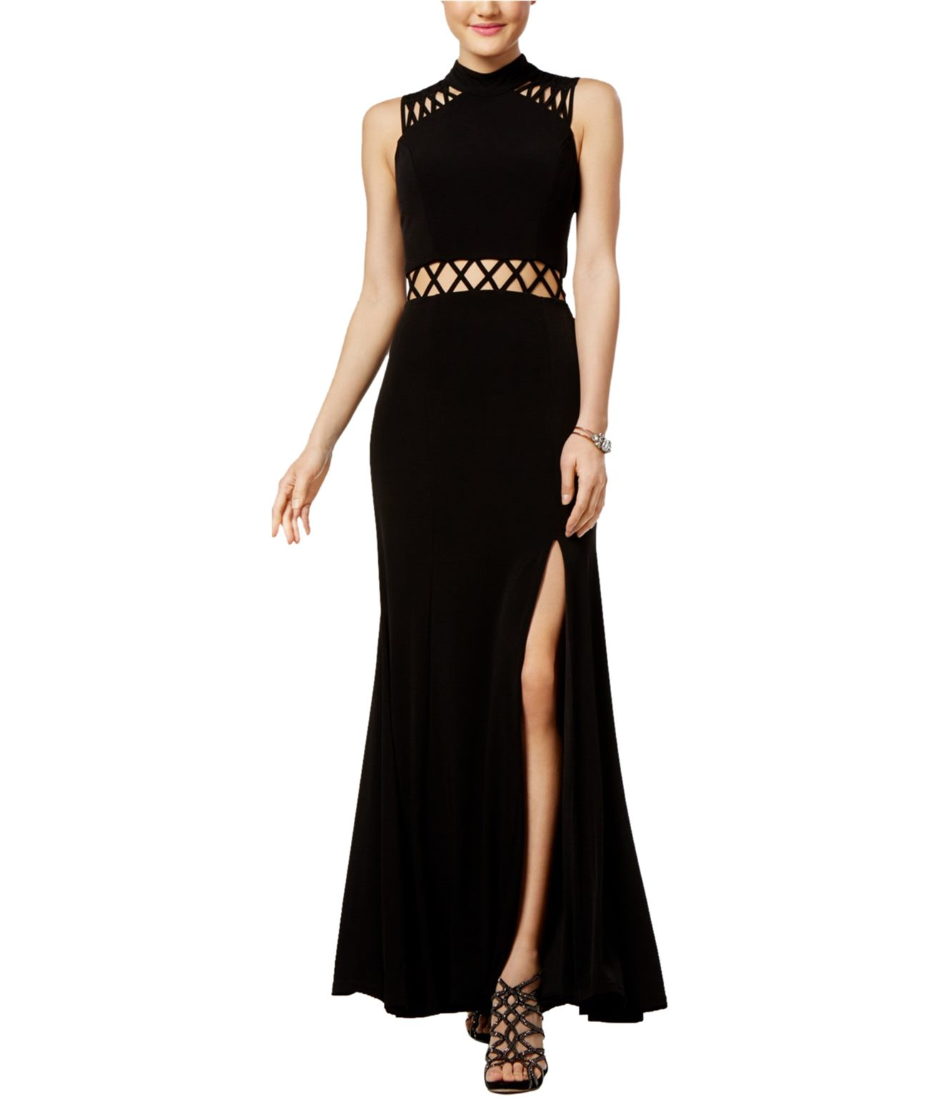 9d272bb8e88e Trixxi Womens Cutout A-line Gown Dress | Trade Me