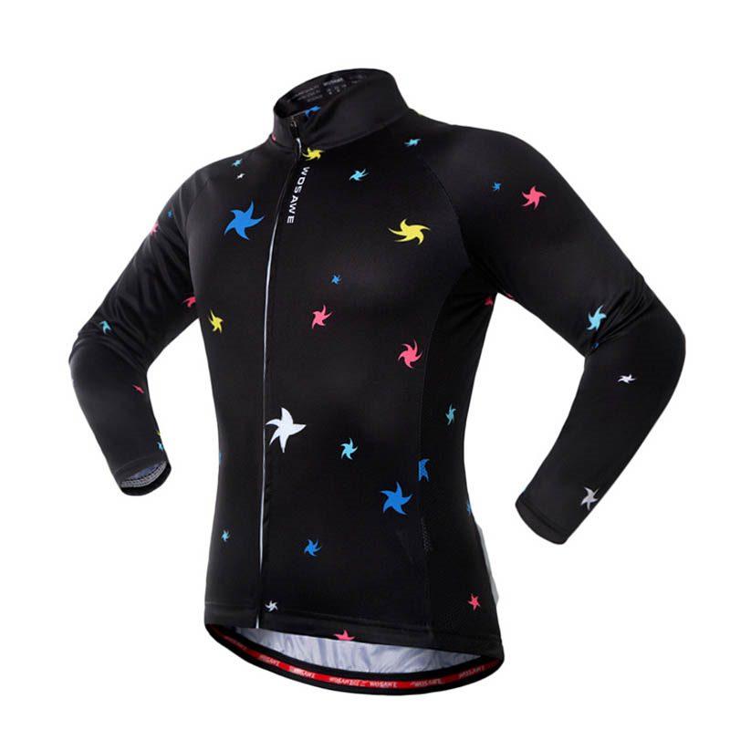 fd0da3354 Quick Dry Men Cycling Jersey Shirts Spring Autumn Biking MTB Bicycle Coat  Tops