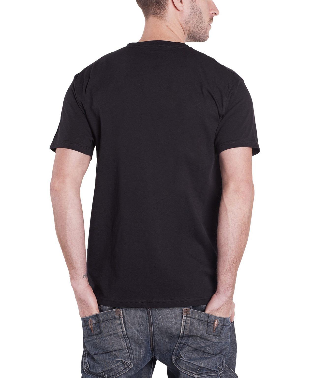 b6fbe81c Pink Floyd T Shirt Mens Black T Shirt Animals Swirl band logo new official    Trade Me