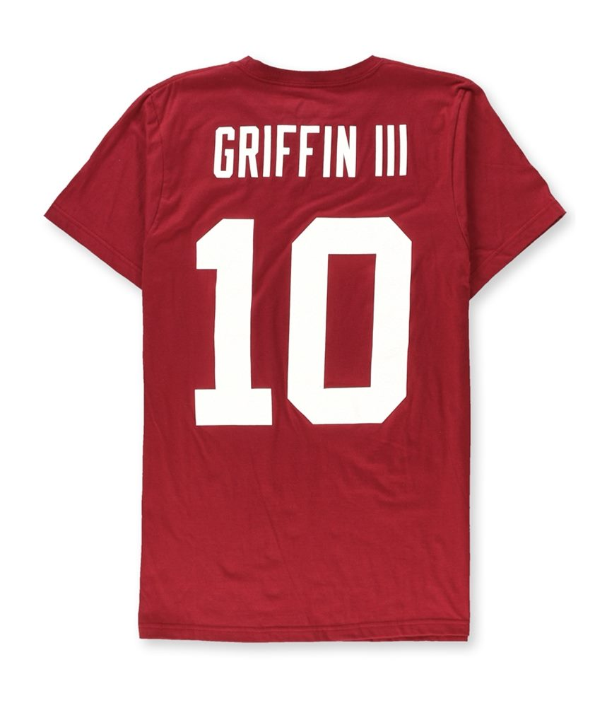 NFL Team Apparel Mens Redskins Griffin III Graphic T-Shirt  735c403b7