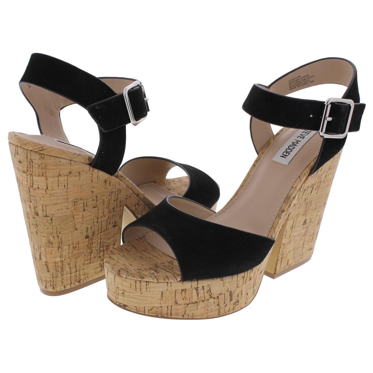 688ea379ca2 Steve Madden Womens Leighton Platform Sandals