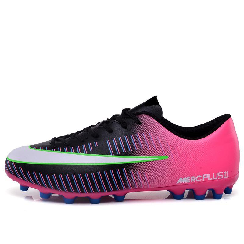 Men Women Football Boots Soccer Shoes