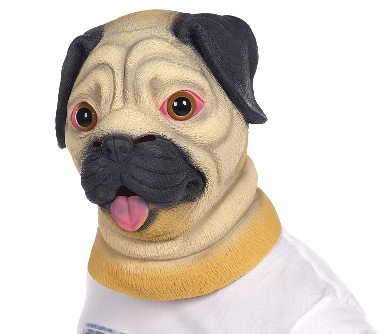 0332f24c Lubber Halloween Costume Pug Latex Animal dog | Trade Me