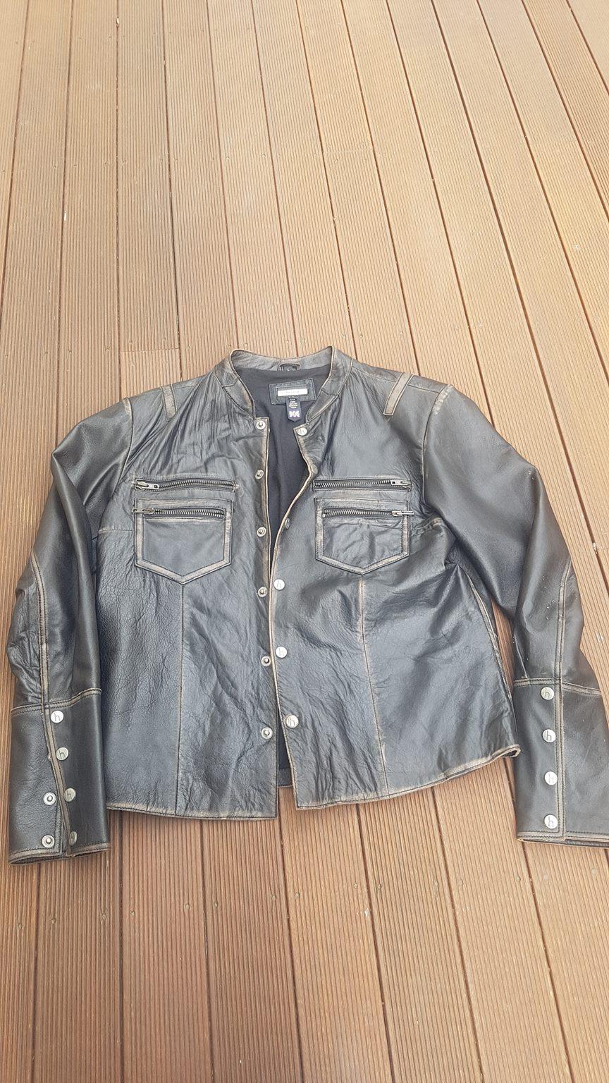 be4a4008e Helium Leather Jacket - Medium to Large