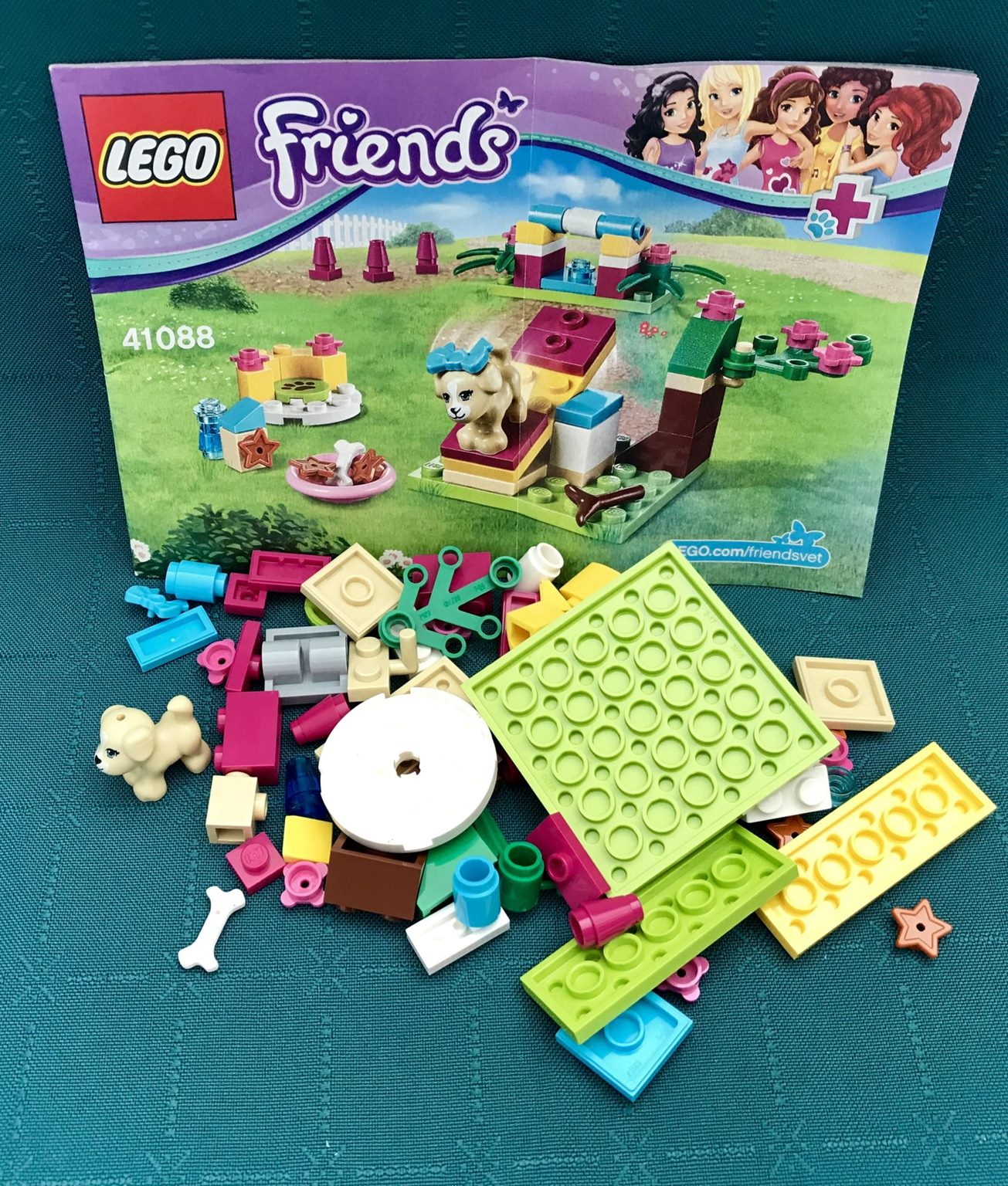 Lego Friends Set 41088 Puppy Training Trade Me