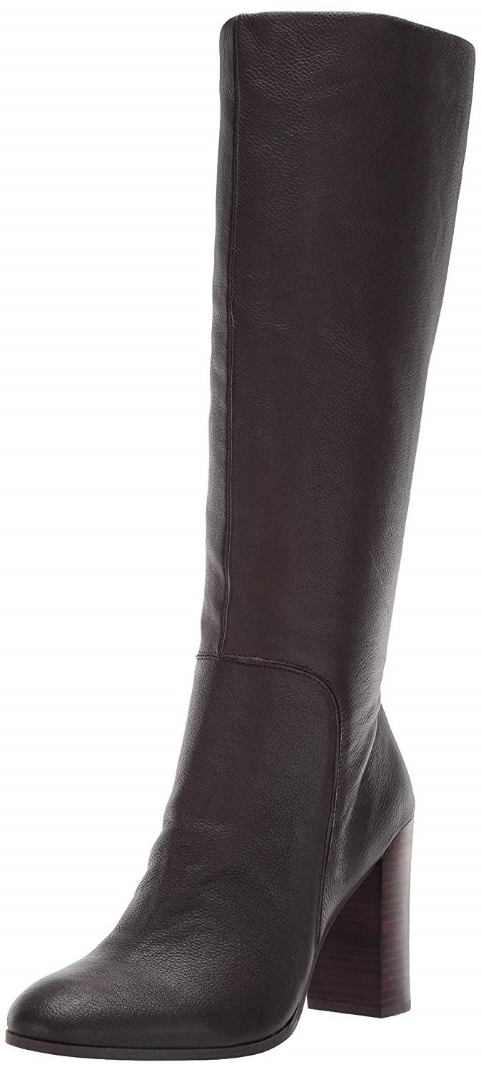 5244f34f6085e Kenneth Cole New York Womens Justin Leather Almond Toe Knee High ...