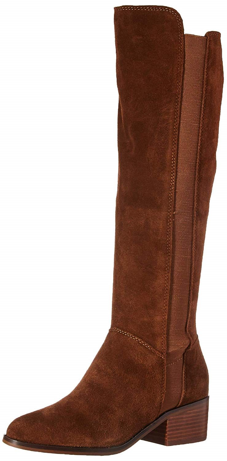 98211d0c2ec Steve Madden Womens Giselle Boots, Chestnut Suede , Size 9 Pre-Owned