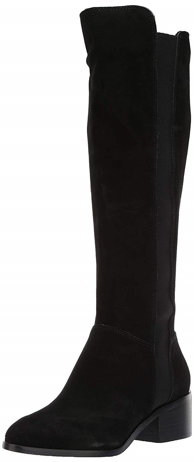 aaa256b7d74 Steve Madden Womens Giselle Boots, Black Suede , Size 7 Pre-Owned