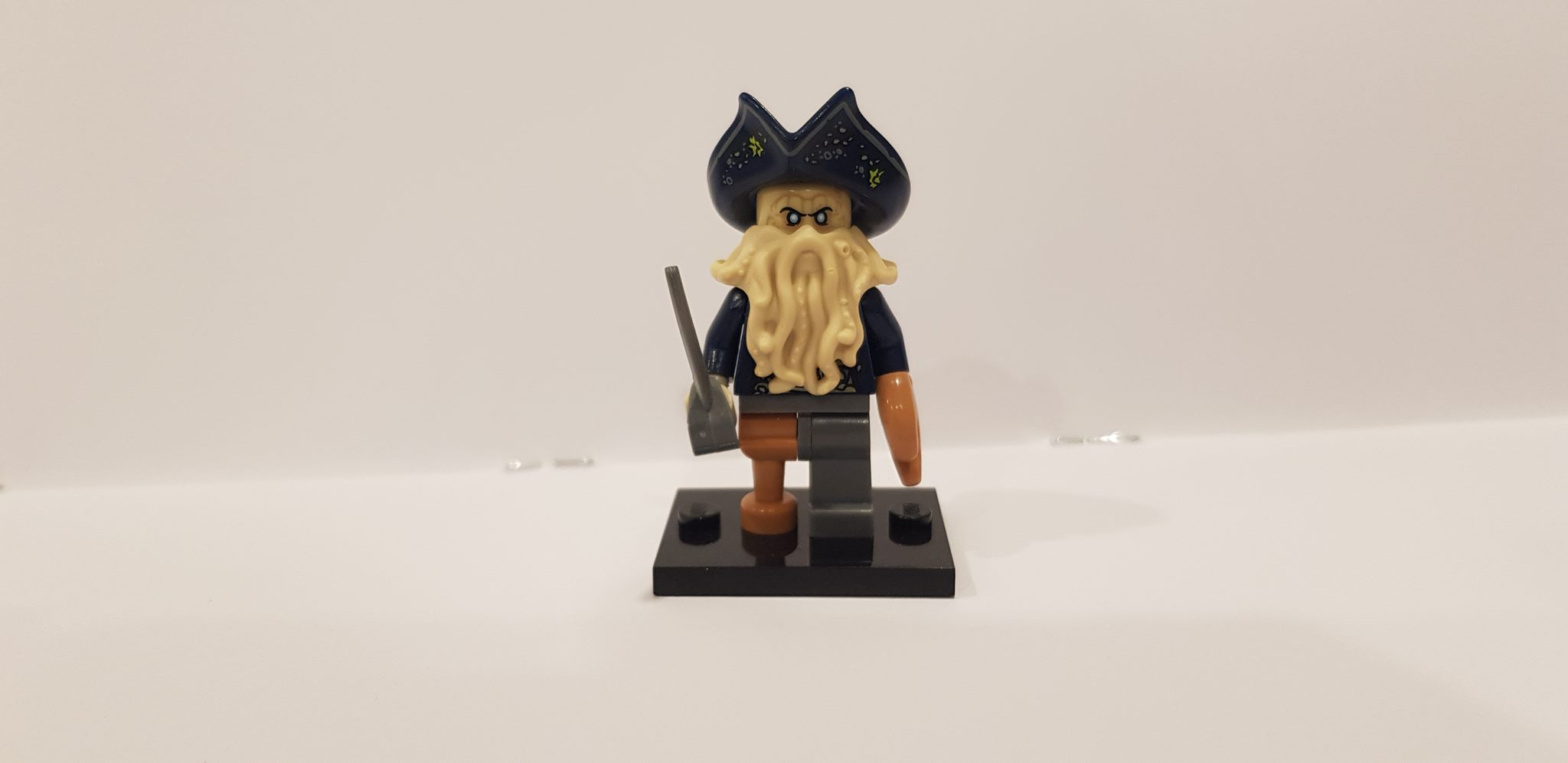Lego Minifigures Davy Jones Rare Trade Me