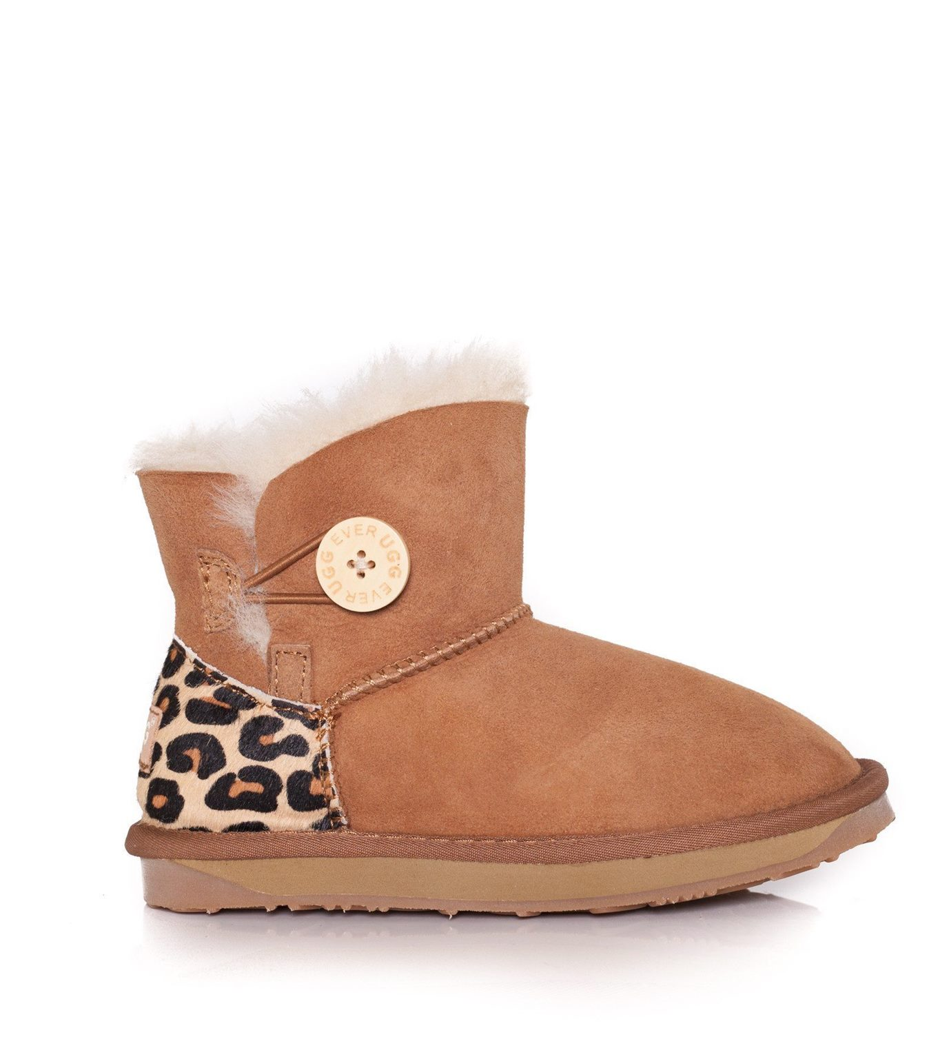 eee504fdeda Kids UGG Boots - Child Mini Button, Australian Sheepskin