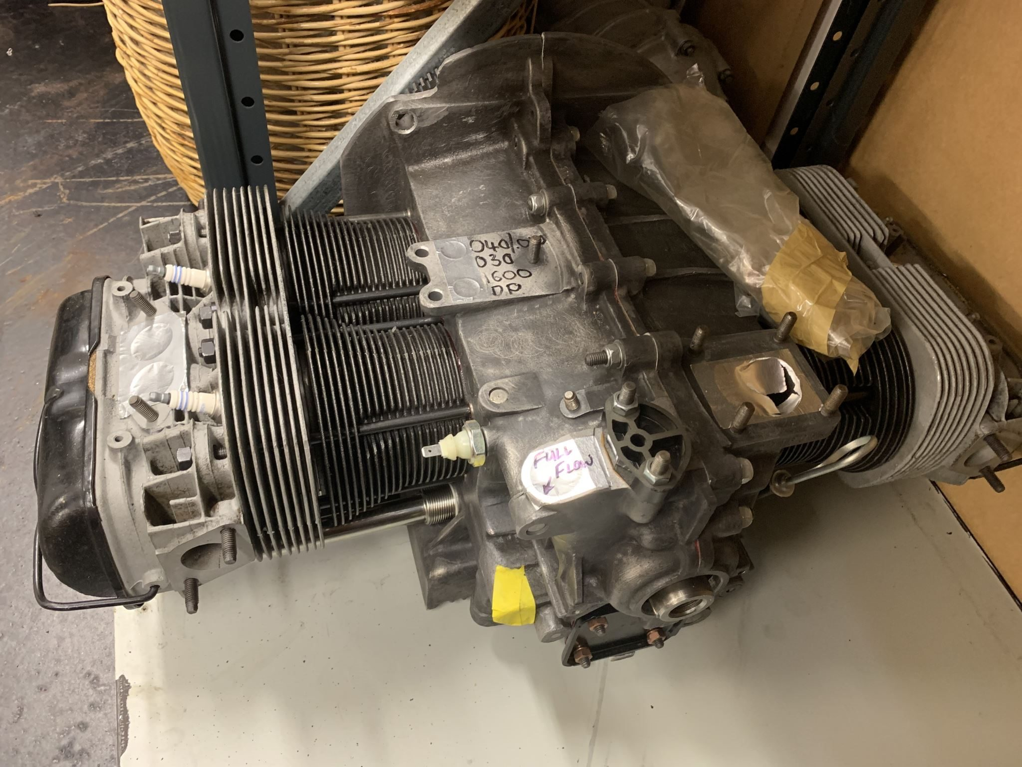 VW Engine Reconditioned 1600cc Dual Port | Trade Me