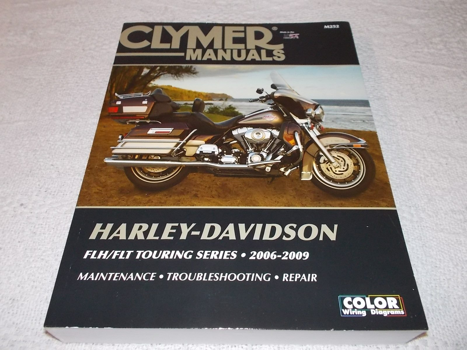 Harley Davidson FLH/FLT Touring Series 06-09 Clymer manual ... on