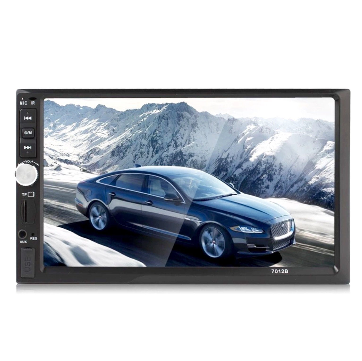 Car Stereo 2 DIN 7 inch Head Unit with Rear View Camera