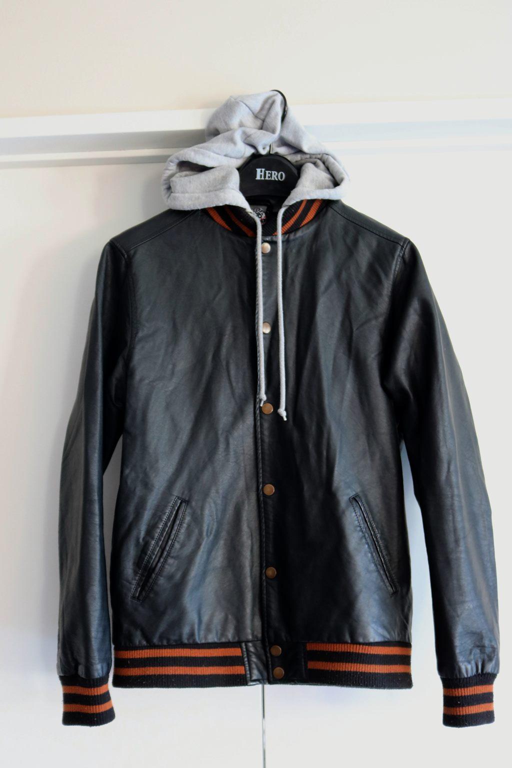 64b8e04e9 Urban Equipment mens pu (leather look) casual jacket (S)