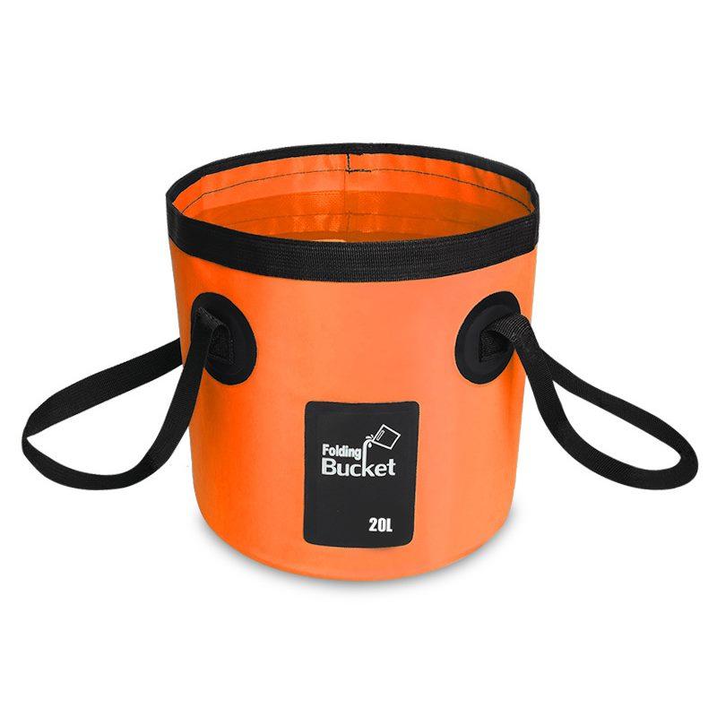 60205a7607fa Waterproof Water Bags Fishing Folding Bucket Portable Carrier Bag
