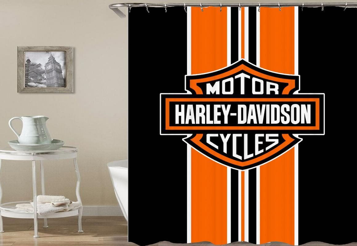 Harley Davidson Classic Shower Curtain