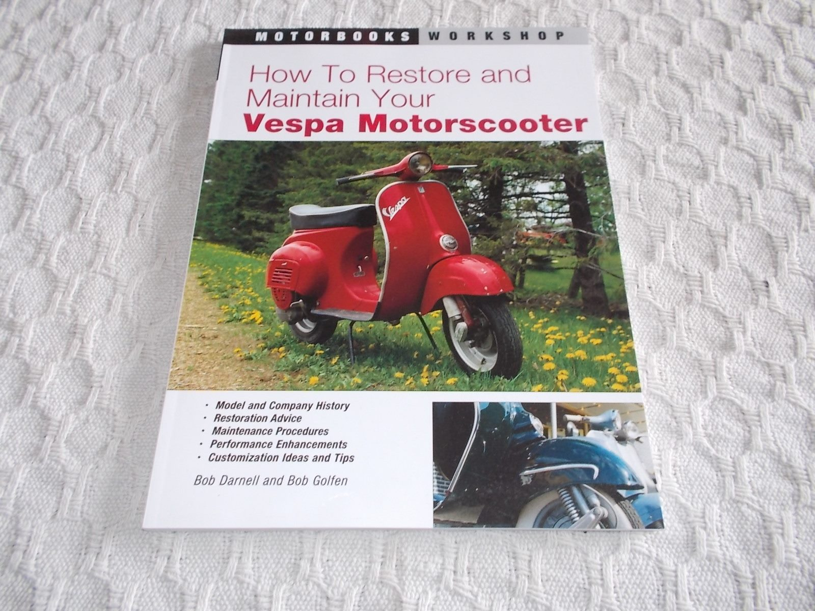 How to Restore and Maintain Your Vespa Motorscooter