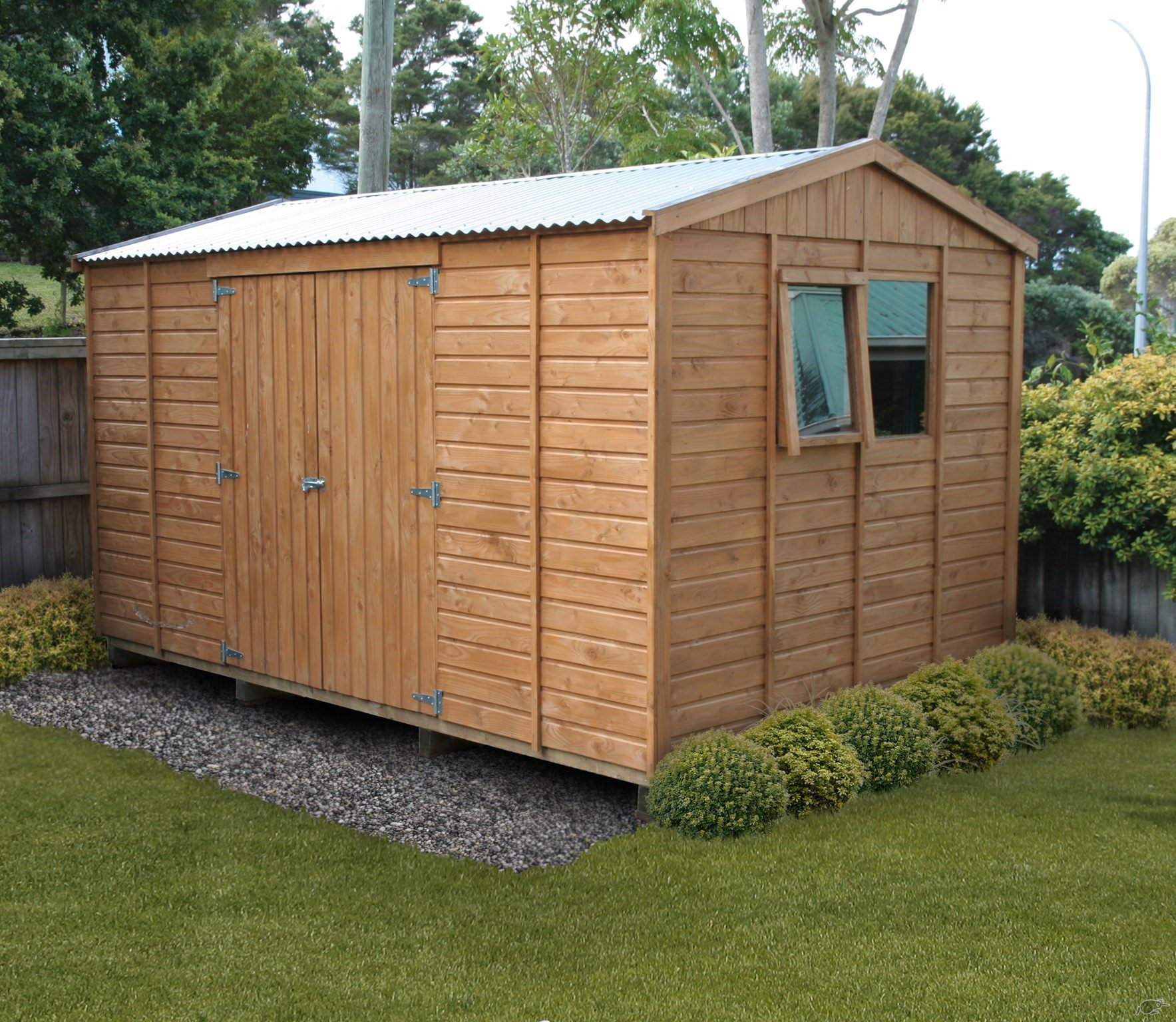 shed homeberry garden product workshop apex doors window groove sheds wooden double and tongue x thickness wall