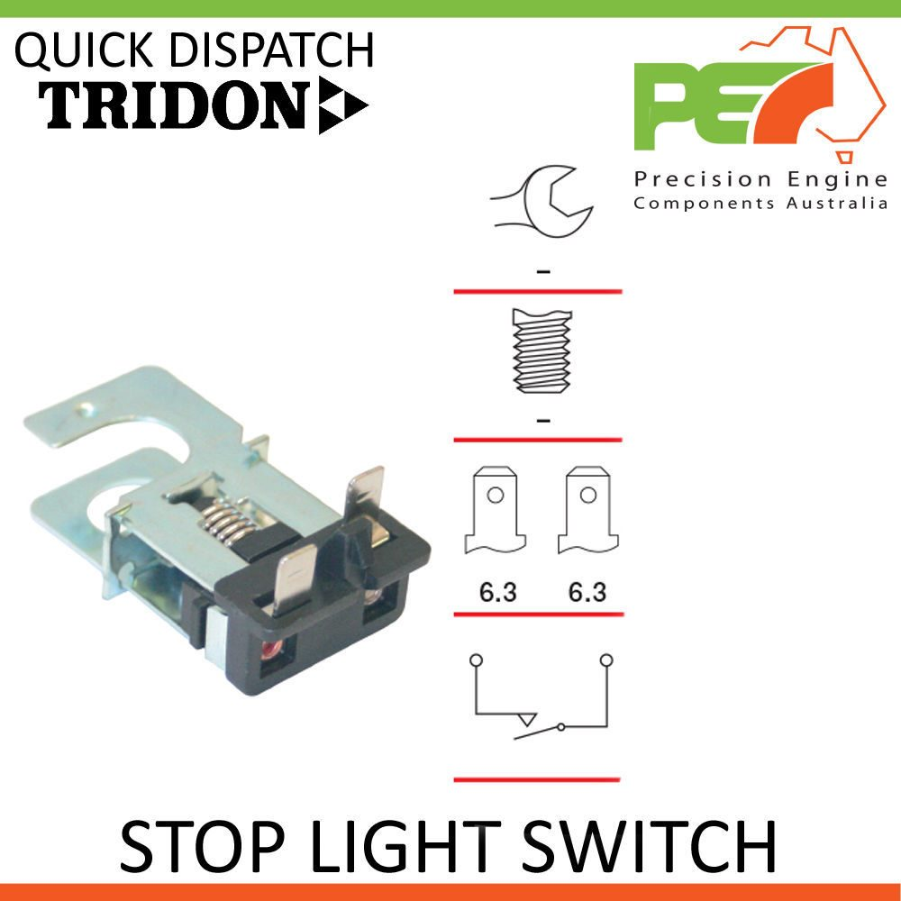 Tridon Stop Brake Light Switch For Ford Falcon Ute 8 Cyl Xh Wiring Diagram Click To Enlarge Photo