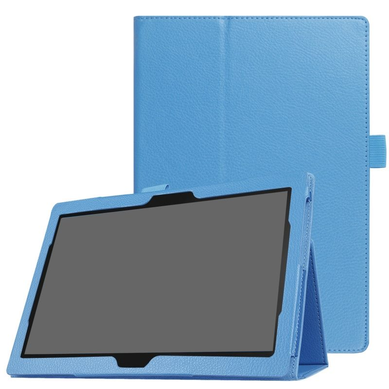 finest selection bee9c 2488c Lenovo TAB E10 TB-X104F Tablet leather case light blue
