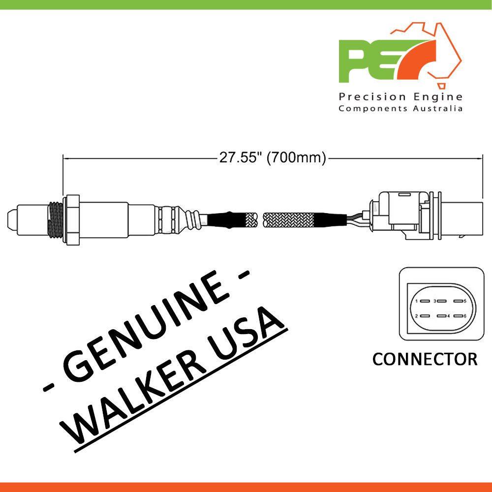 Walker Usa Oxygen Sensor O2 For Bmw 740li 750i 750li 760li E66 E65 Electrical Wiring Diagram 760 Click To Enlarge Photo