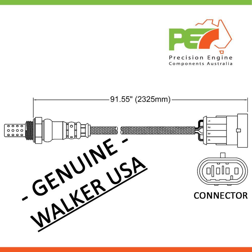 Walker Usa Oxygen Sensor For Alfa Romeo 166 Gt Gtv Spider Ar936 Engine Diagrams Click To Enlarge Photo