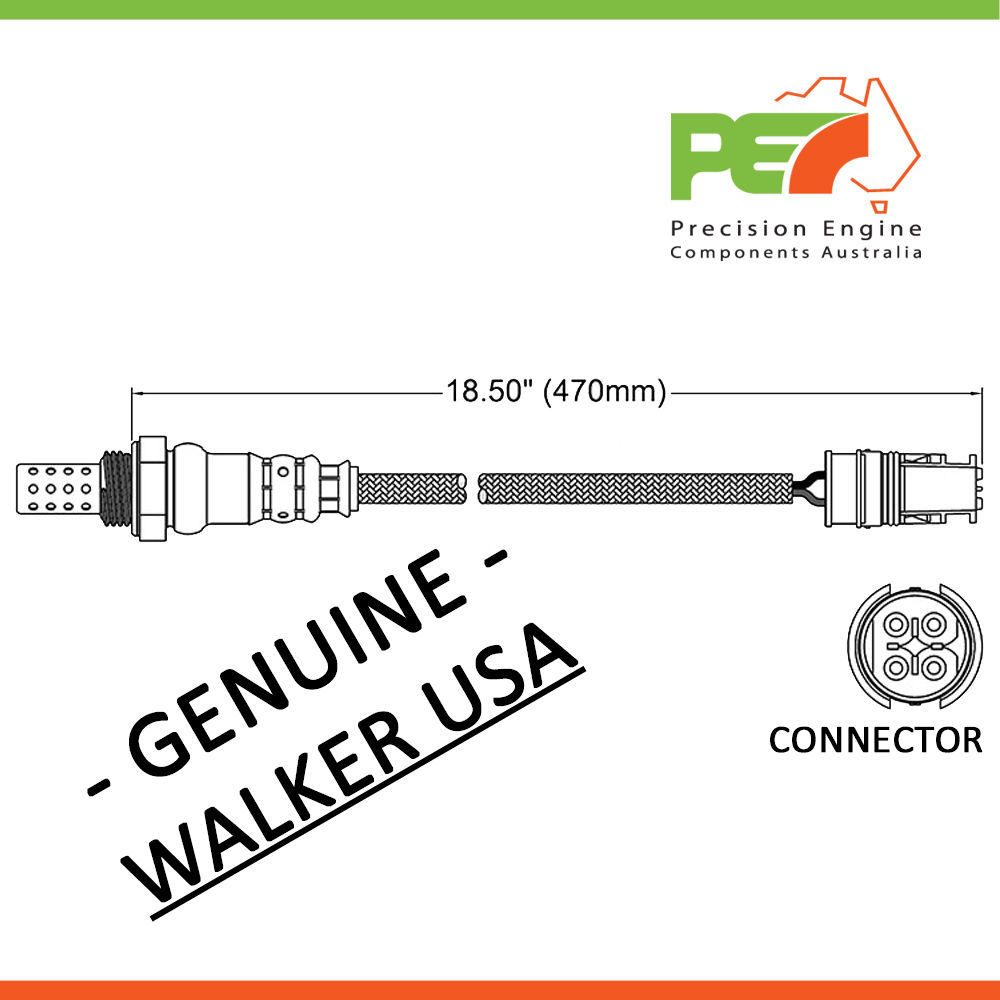 Mercedes Clk 320 Engine Diagram Walker Usa Oxygen Sensor O2 For Benz Clk240 Clk320 W209 Click To Enlarge Photo