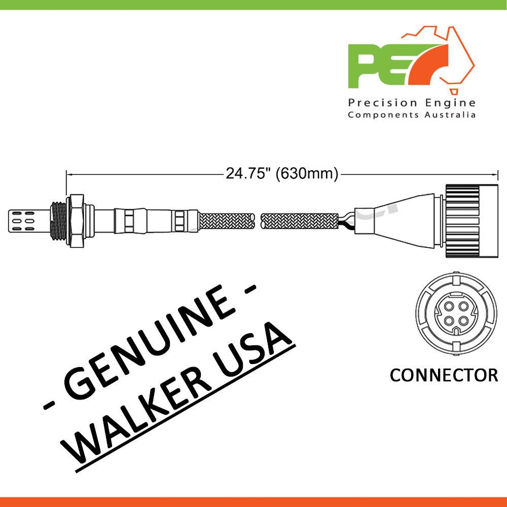 Walker Usa Oxygen Sensor O2 For Bmw 316i Compact 318i 320i E36 E30 M40 Wiring Diagram Click To Enlarge Photo