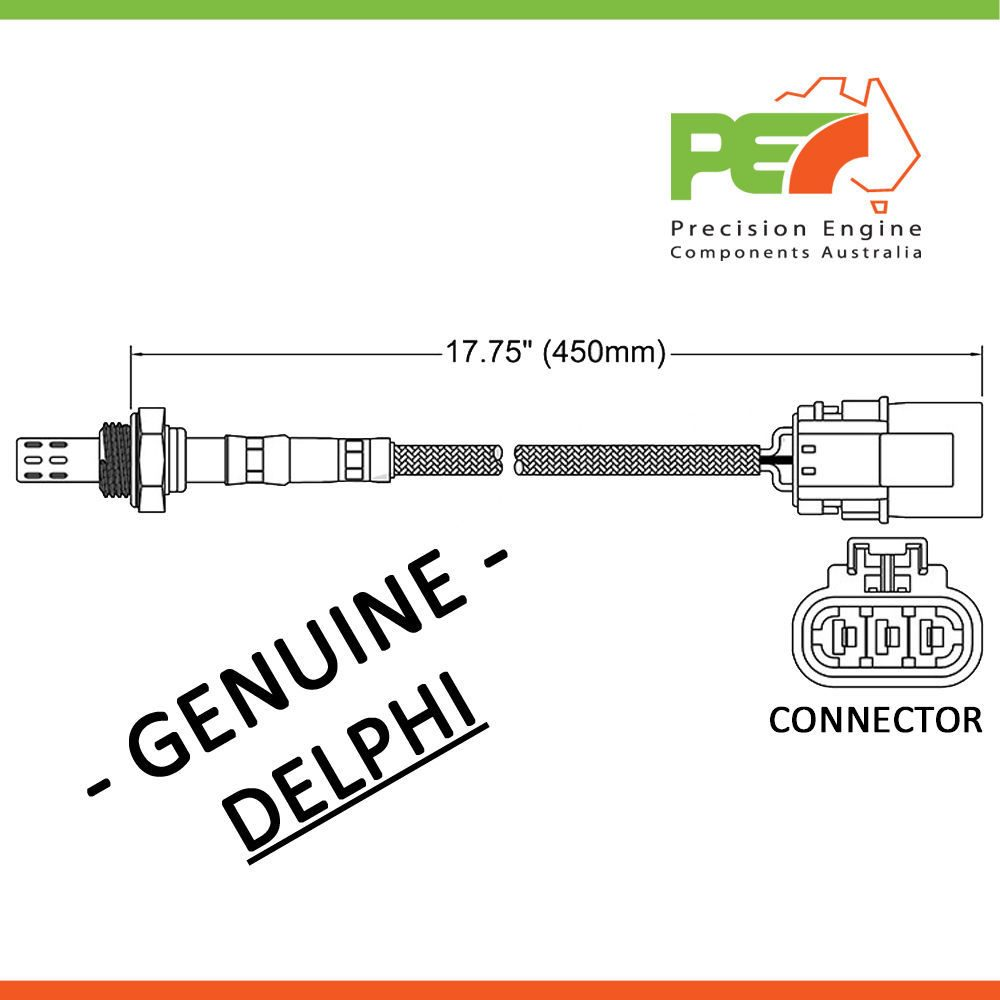 Delphi Oxygen Sensor O2 For Nissan Infinity Q45 Micra G50 K11e Engine Diagram Click To Enlarge Photo