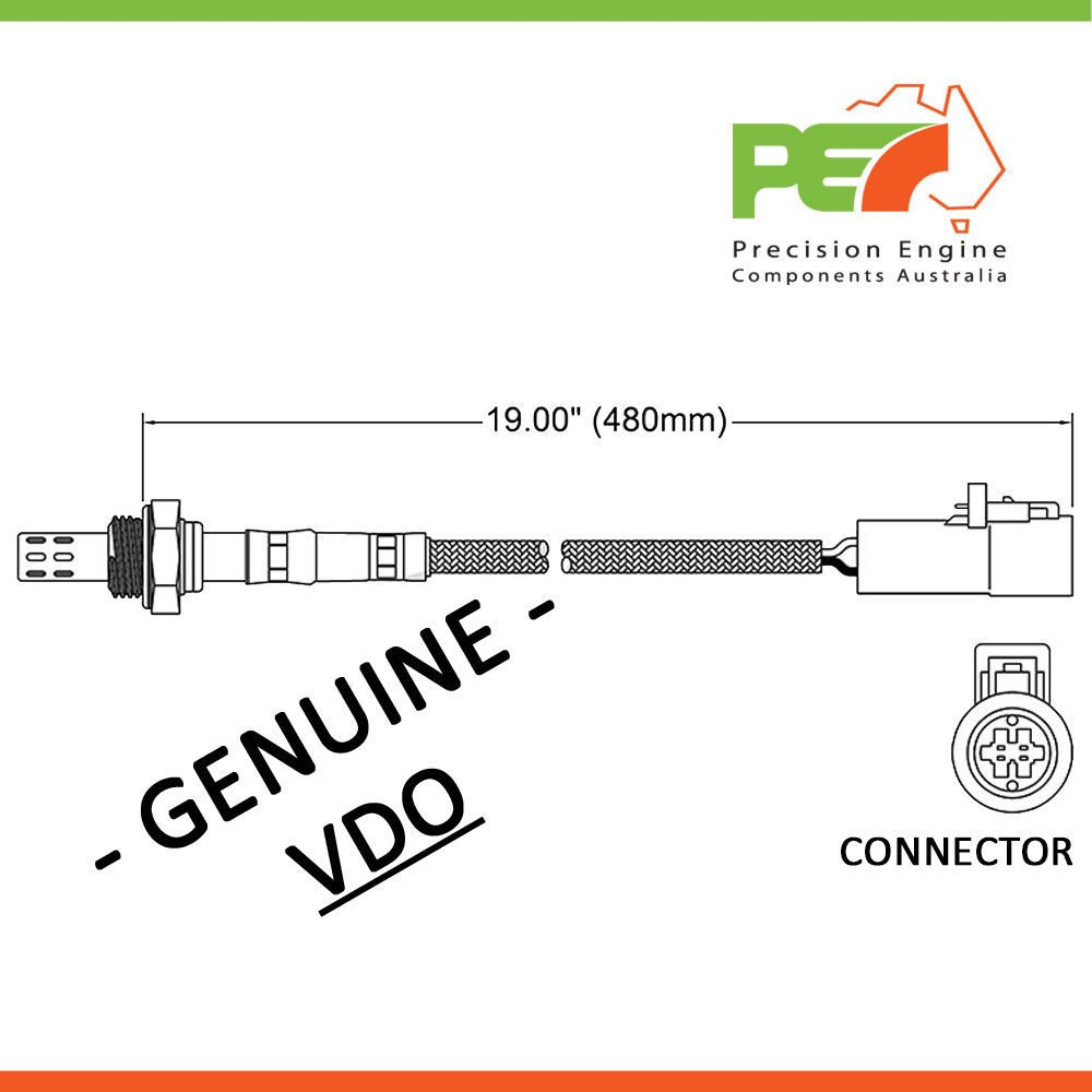 vdo oxygen sensor for ford falcon ea eb ed ef el xg ute van xh on 1963 Ford Wiring Diagram for click to enlarge photo at Ford Regulator Diagram