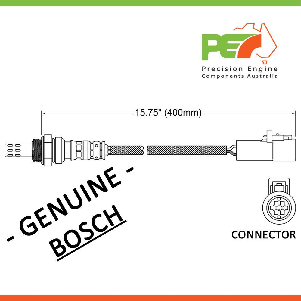Bosch Oxygen Sensor O2 For Ford Mondeo Mustang Cobra Hc Hd He Wiring Diagram 3 Wire Connector Click To Enlarge Photo
