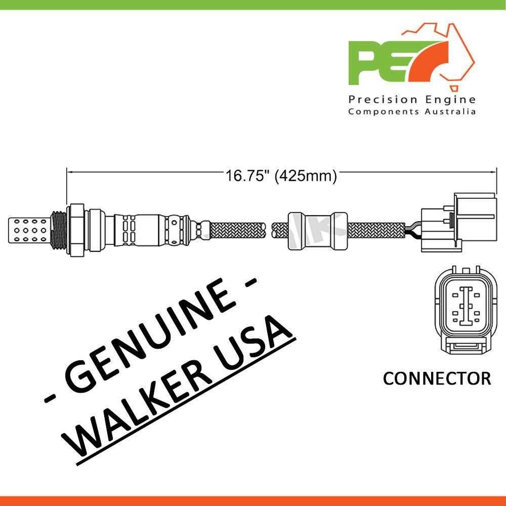 walker usa * oxygen sensor o2 for honda hrv integra odyssey 1 6l CRX O2 Sensor Diagram click to enlarge photo