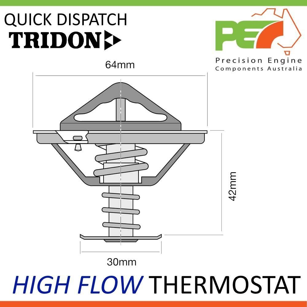New Tridon High Flow Thermostat For Honda Prelude S2000 Bb1 Engine Diagram Click To Enlarge Photo