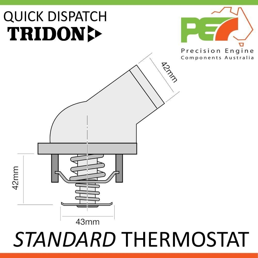 Tridon Standard Thermostat For Mercedes Benz Clk240 Clk320 C209 C208 Clk 320 Engine Diagram Click To Enlarge Photo