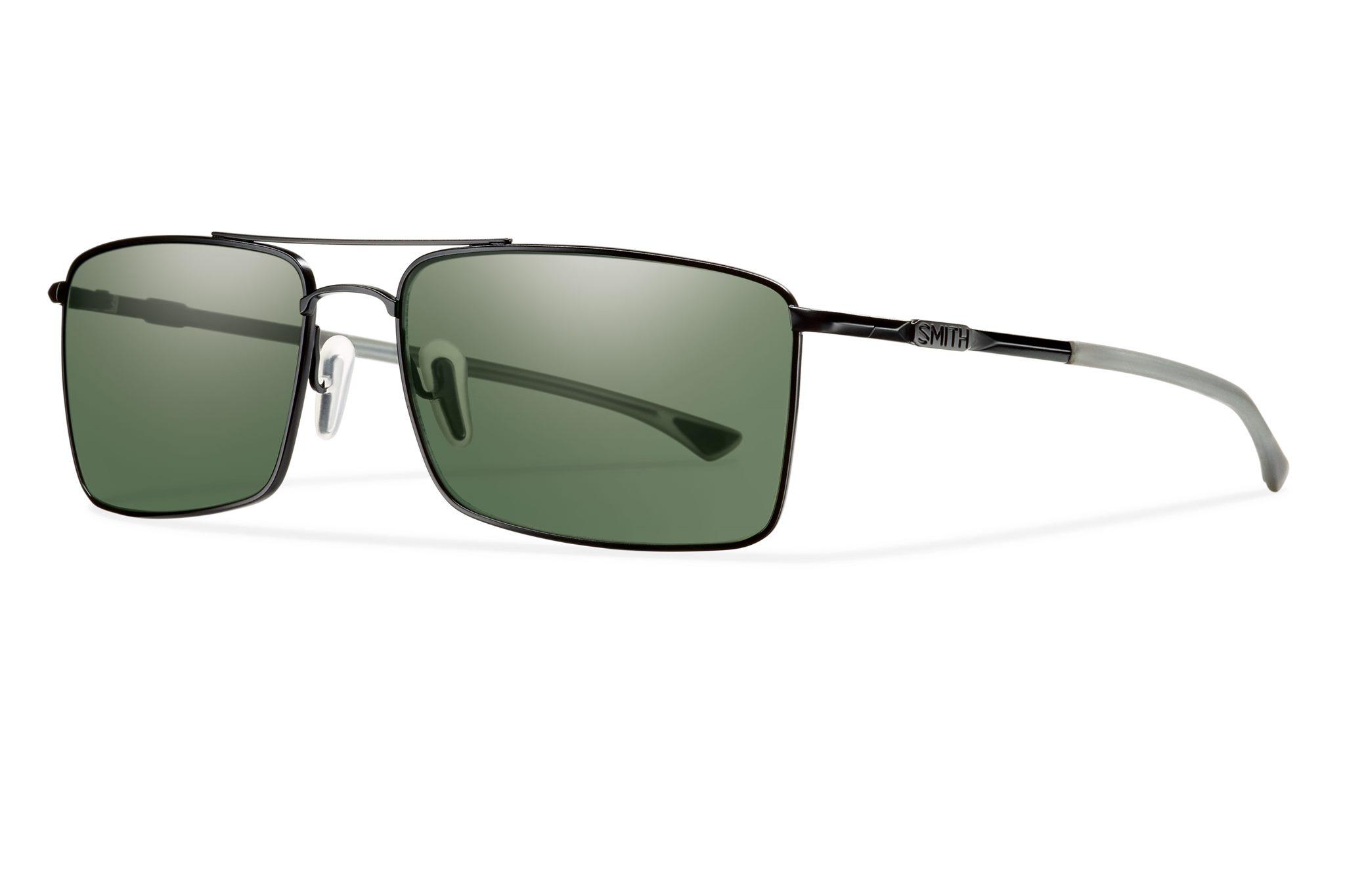 eb8abe1853 Smith Optics Outlier TI Sunglasses - MATTE BLACK POLAR GRAY GREEN ...
