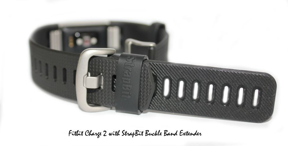 Band Extender Compatible with Fitbit Charge HR/ 2 & 3 for Wrist or Ankle  Wear