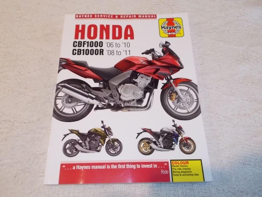 Bestseller  Honda Cbf 1000 Service Manual