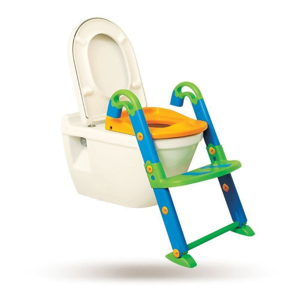 daba50bfd KidsKit 3 in 1 Kids Seat Toilet Trainer with Steps (Blue) NEW Free ...