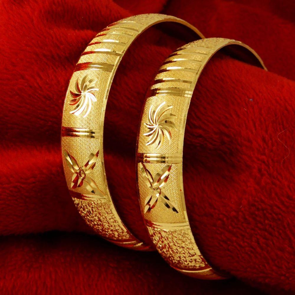 Indian Goldplated Wedding Party Kada Bracelets Traditional Bangle
