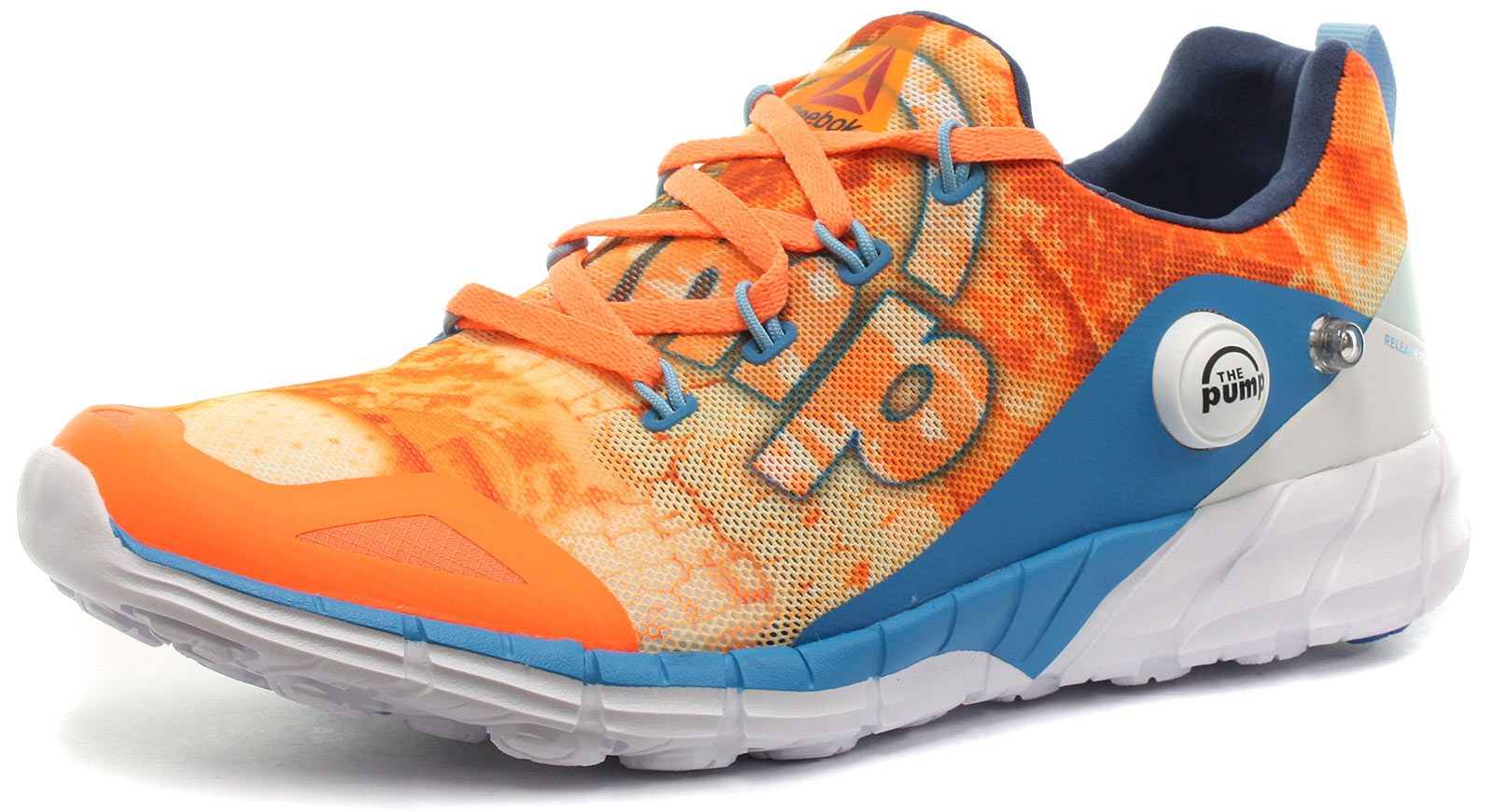 fc4f5c152a Reebok ZPump Fusion 2.0 Dunes Orange Womens Running Shoes, US Size 6