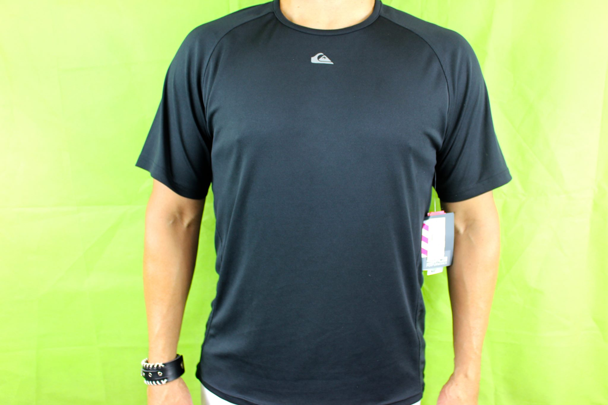 5261fd3034b QUIKSILVER T-SHIRT ATHLETIC ACTIVE DRI-FIT TEE T-SHIRT SIZE M 40 ...