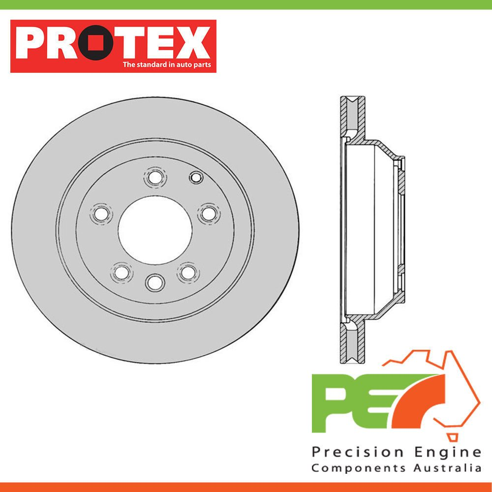 Volkswagen Touareg Parts Diagram 2012 Vw Engine New Protex Rotors Rear For Suv Awd 1000x1000