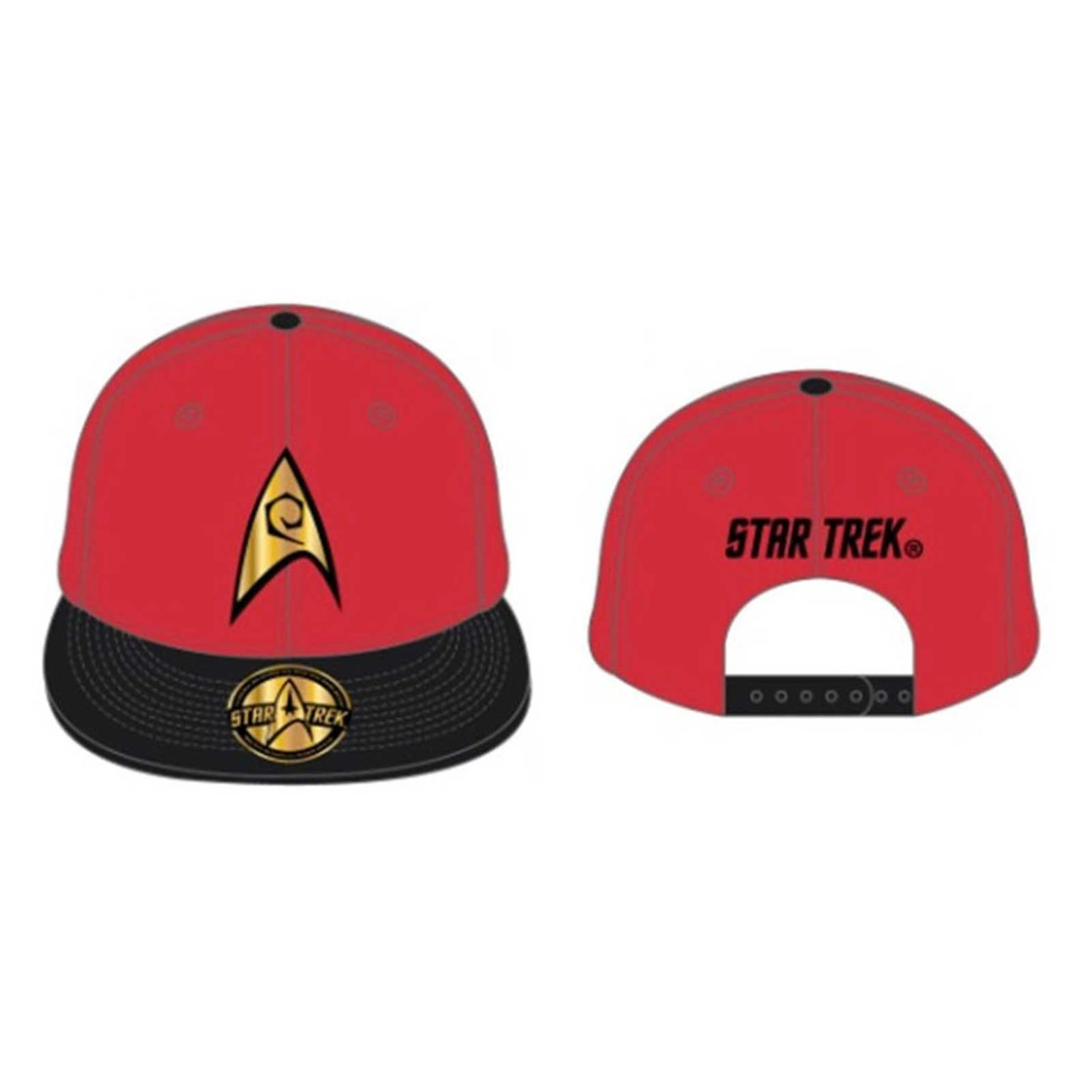 5ca28c0cb3 Star Trek Baseball Cap Engineering Scotty Badge Logo Official New ...